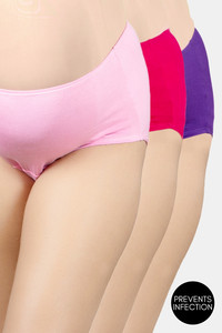Buy Adira Pack Of 3 Maternity Hygiene Panties - Magenta Dark Pink Light Pink
