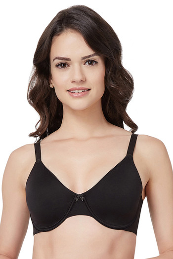15ad29706f Buy Amante Non Padded Wired Bra - Black