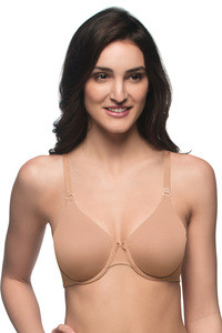 f3d02925a160f Buy Amante Single Layered Underwired Bra- Skin