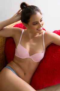 e4136a61ff Buy Zivame Laser Wings Gentle Lift Wired T-Shirt Bra- Pink at Rs.697 ...