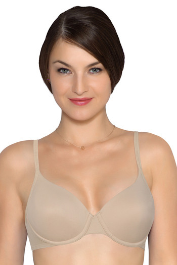 47abdf5de4 Buy Amante Smooth Padded T shirt Underwired Bra-Nude