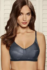 d2a8d18fabfed Buy Amante Non Padded Non Wired Everyday Bra-Grey at Rs.545 online ...