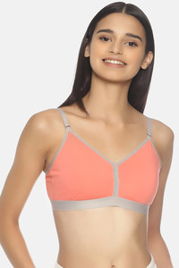 Buy Brag Teens Wirefree Removable Cookie T-Shirt Bra - Peach