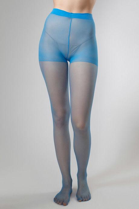 54a7a368afd3b Buy Zivame Pop Color Spandex 20 Denier Sheer Pantyhose - Light Blue ...