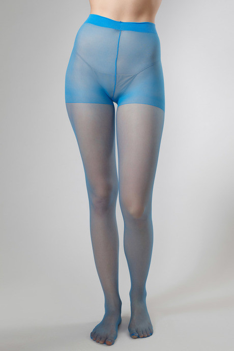 44d321d50 Buy Zivame Pop Color Spandex 20 Denier Sheer Pantyhose - Light Blue ...