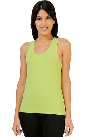 14fec5dab1 Buy Zivame Stretch Cotton Regular Fit Racerback- Green