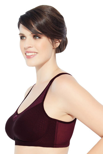 Buy Enamor Single Layered Super Support Bra- Purple at Rs.949 online ... 3531f21aa