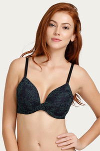 Buy Lovable Lightly Padded Underwired Bra- Navy