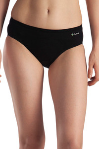Buy Lavos High Rise No Stain Period Hipster Brief - Black