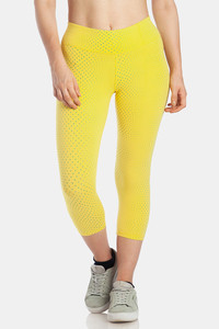 c35f1ee4eff1c Lavos Bamboo With Organic Cotton Skin Fit Secret Sleek Pocket Capri - Yellow