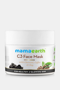 Buy Mamaearth Charcoal Coffee and Clay Face Mask 100 ML (Pack of 1) - Grey