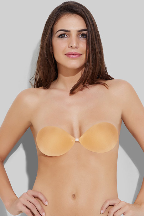 a2dd4501e4 Buy Zivame Super Smooth Silicone with Fabric Stick On Bra- Nude at ...