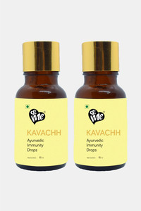 Buy &Me Kavachh Immunity Drop To Boost Immunity, Cough & Cold Relief, Fighting Inflammation With The Goodness of Tulsi, Amla, Haldi, Pudina And Ashwagandha, Orange Flavor-15 ml(Pack of 2)