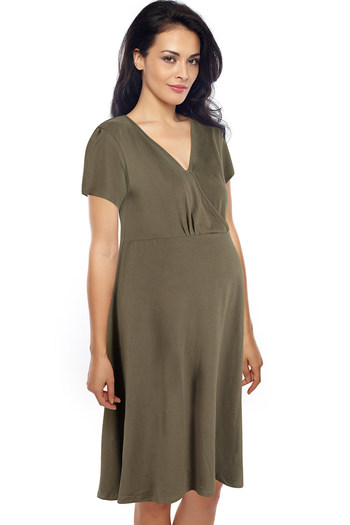 1c573fc8c1 Buy Zivame Organic Cotton Nursing Nightdress at Rs.699 online ...