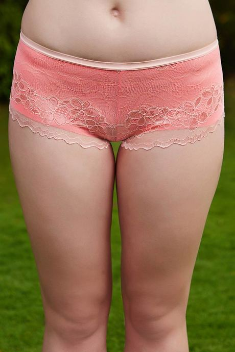 01916a9fc Buy Zivame Dual Toned Soft Lace Low Rise Hipster Panty-Peach at Rs ...