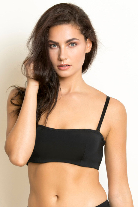 a45e9aed97 Buy Zivame Padded Underwired Cami Bra- Black (A-D) at Rs.697 online ...