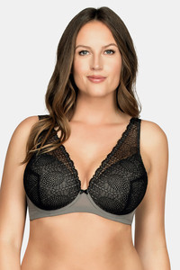 Buy Parfait Padded Wired No Sag Bra - Black