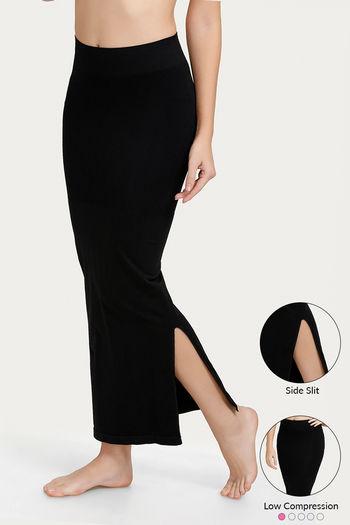 Zivame Mermaid Saree Shapewear-Black
