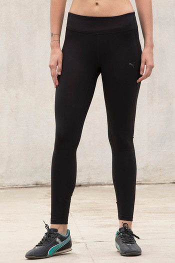 model image of Puma Essential Long Tight- Black