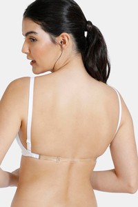 Buy Zivame Double Layered Non Wired 3/4th Coverage Backless Bra-White
