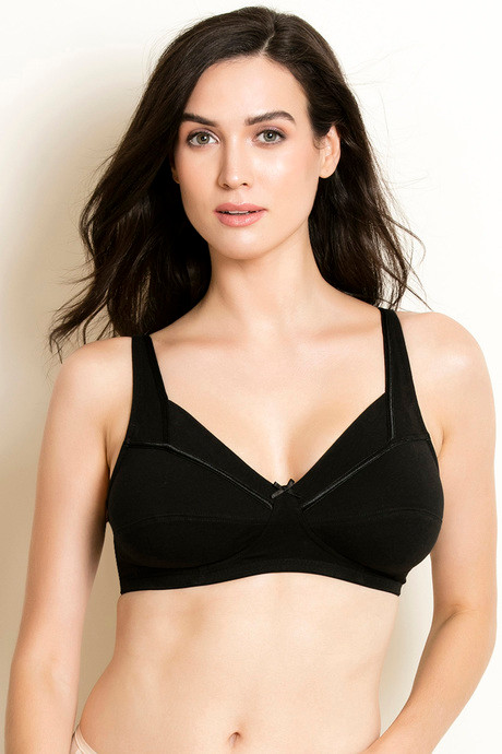 7420a22d76 Buy Rosaline True Curv Wide Back Support Bra - Black at Rs.551 ...