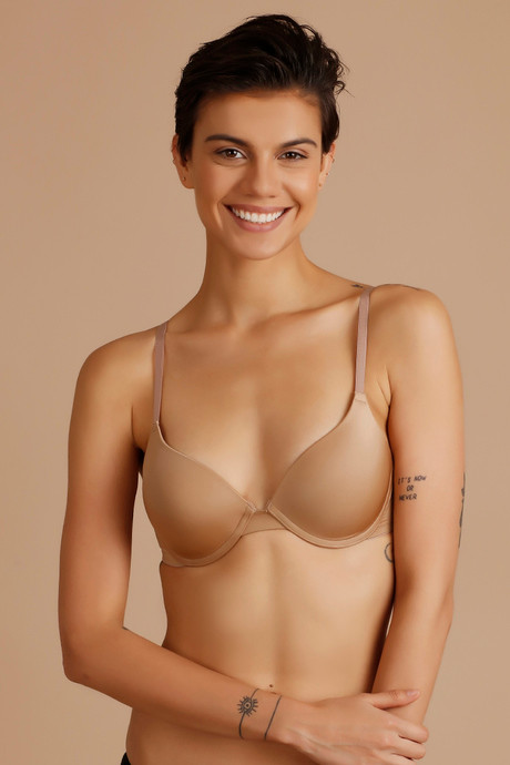 30ab5e58dd6a Zivame Soft N Sheen Moderate Lift Underwired Bra Skin Online Shopping