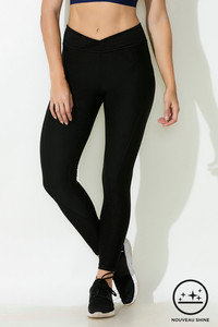 Buy Zelocity Nouveau Shine Legging - Black