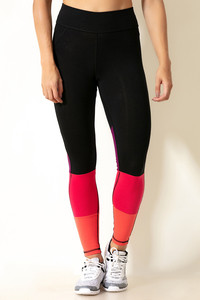 4e88f6d3c Buy Zelocity Color Block Legging-Black