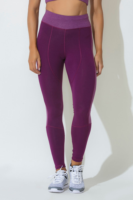 ecc0a8eac7bd05 Buy Zelocity Decode Collection Skin Fit Legging- Dark Pink at Rs.712 ...