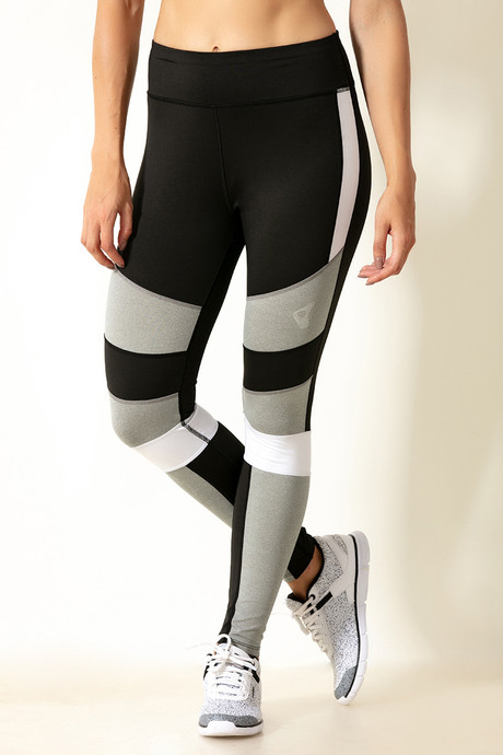 4a78ef515d9193 Buy Zelocity Skin Fit Legging- White at Rs.1197 online | Activewear ...