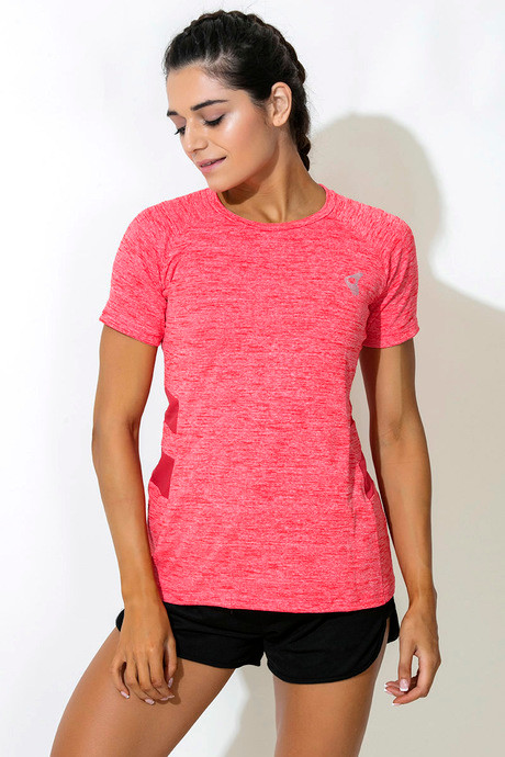 a7d50639daf9dd Buy Zelocity Decode Collection Relaxed Fit Tee - Pink at Rs.537 ...