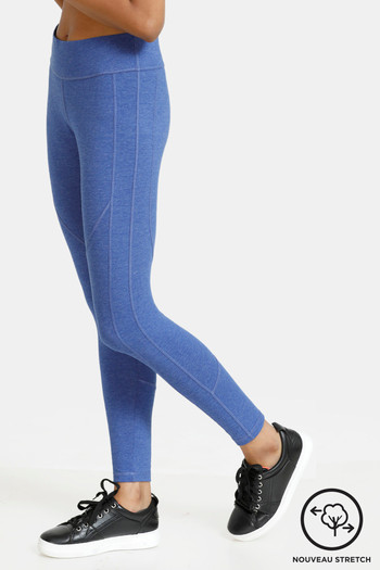 Zelocity Nouveau Stretch Legging   Blue