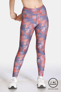 Buy Zelocity High Rise Nouveau Shine Legging - Summer Fig