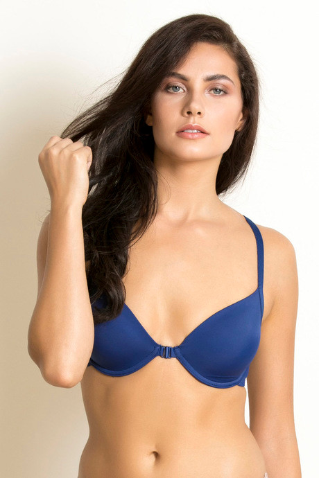 424f4467601 Buy Zivame Padded Pretty Back Bra-Blue at Rs.427 online