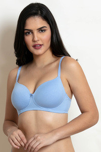 ebef1d7e52f56 Blue Bras - Buy Blue Colour Bras Online in India