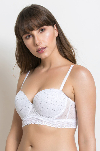 bc2aa3f485a7d Buy Zivame Strapless Moderate Lift Push Up Bra - White at Rs.697 ...