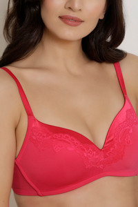 ac4948c0d5a3a Buy Zivame Shades Of Love Padded Bra - Pink