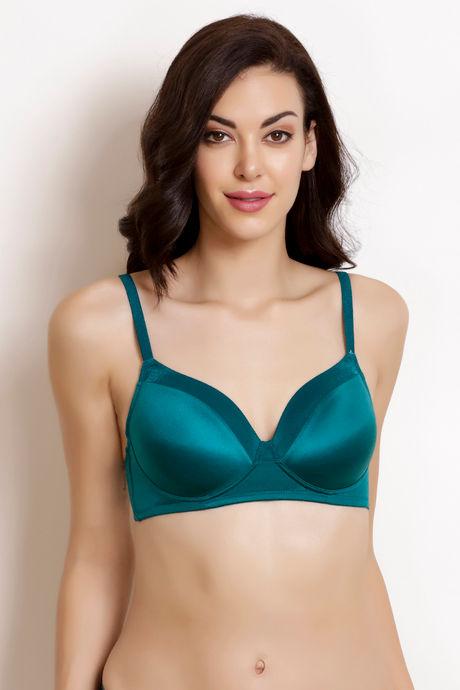 b7da400fc69e4 Buy Zivame Shimmer N Shine T-Shirt Bra- Green at Rs.498 online ...