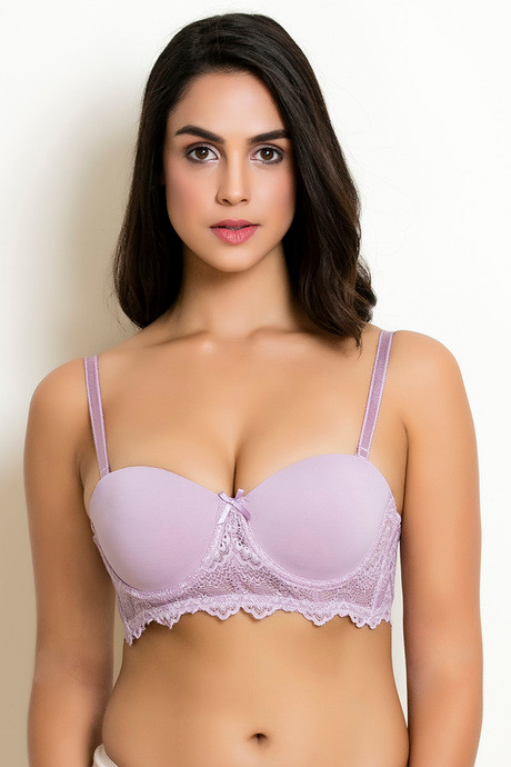 5d740f2389429 Buy Zivame LuxeLace Moderate Lift Push Up Bra - Pink at Rs.673 ...