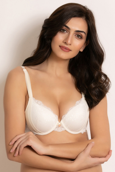 3c9eac5e0ab73 Buy Zivame Shades Of Love Moderate Lift Push Up Bra - White at Rs ...