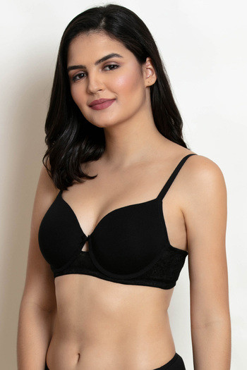 Buy Zivame Beautiful Basics Underwired T-Shirt Bra -Black at Rs.417 ... c032705d7