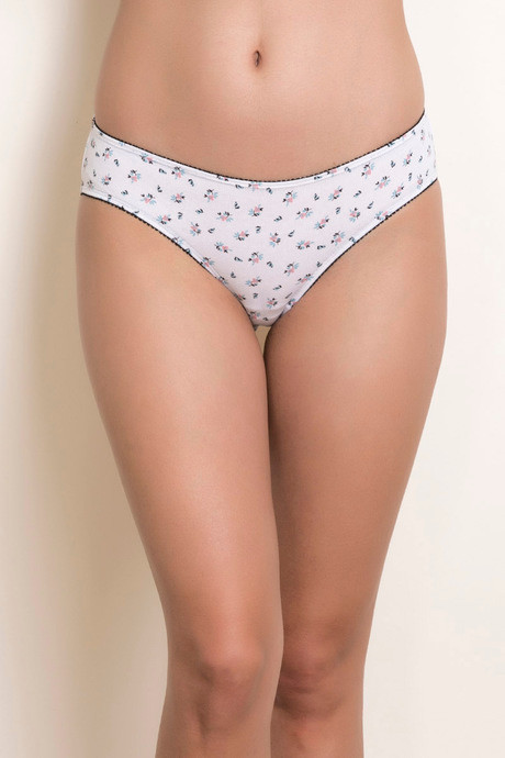 b693302a55d Buy Zivame Mid Rise Hipster Brief - White N Print at Rs.395 online ...