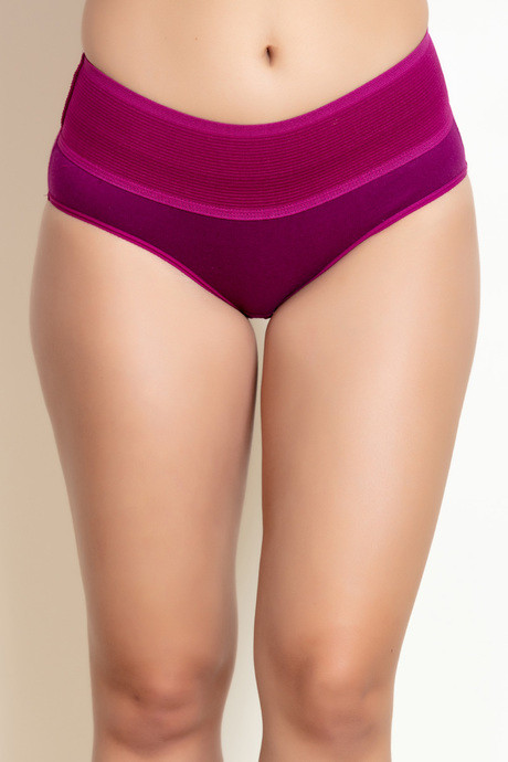 Rosaline Mid Rise Tummy Tucker Panty (Pack Of 2) - Assorted