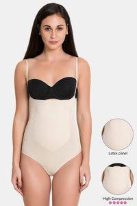 2fa51b27239 Buy Zivame High Control No Leg Bodysuit - Black at Rs.1047 online ...