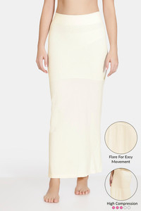 Buy Zivame High Compression Flared Mermaid Saree Shapewear- Ivory