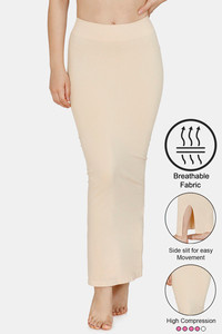 Buy Zivame High Compression Slit Mermaid Saree Shapewear - Skin