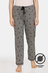 Buy Zivame Crazy Farm Antiviral Finish Cotton Pyjama - High Rise