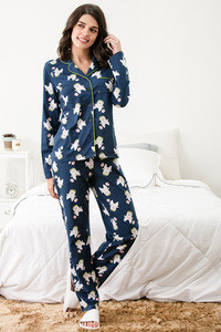 Buy Zivame Three Musketeers Top N Pyjama Set - Navy N Print 73dbdeaf7