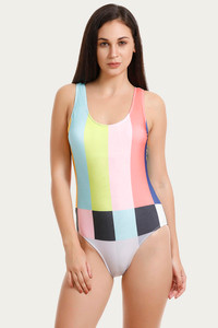 a3e531721ff4 Buy Zivame Padded Malliot - Multi Color at Rs.998 online | Swim ...