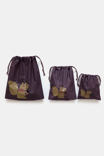 Zivame Travel Pouch  Pack Of 3    Purple